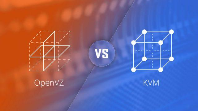 Различие KVM и OpenVZ